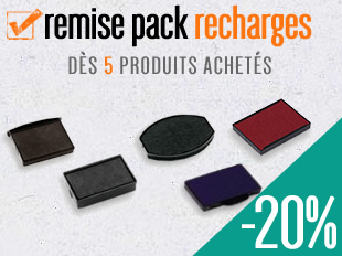 REMISE POUR ENCREURS RECHARGES TAMPONS